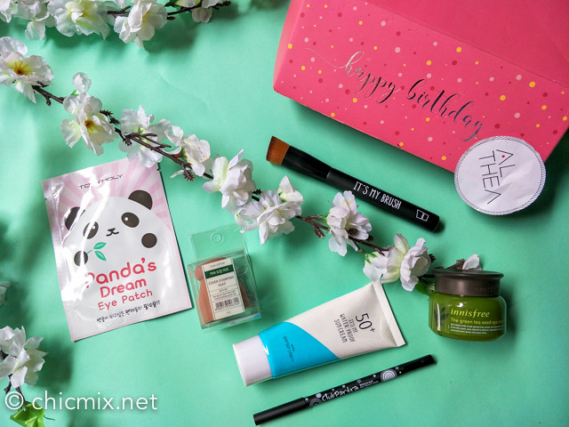 Althea Korea's 2nd Birthday Promos + Haul