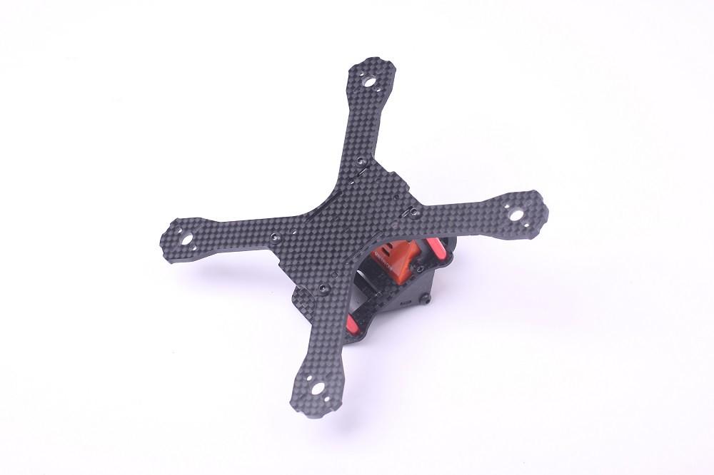 140mm X Size Micro FPV Quadcopter EG140 Full Carbon Fiber Frame Kit ...