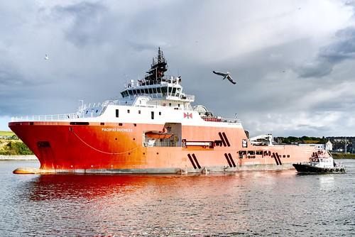 Pacific Duchess - Aberdeen Harbour Scotland 31/7/17