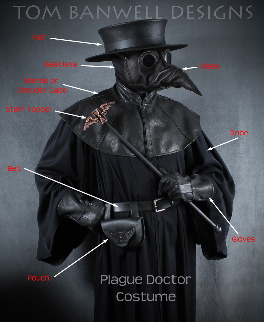 Plague Doctor Costume Tom Banwell Flickr