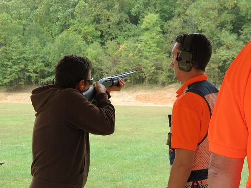 Photo of shooting instruction