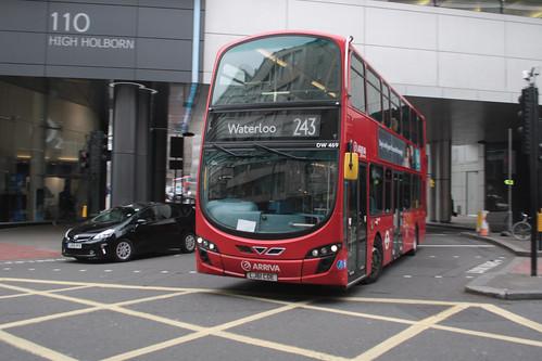 Arriva London DW469 LJ61CDE