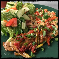 #pork #cutlet #food #scapes #sundried #tomatoes #homemade #CucinaDelloZio -