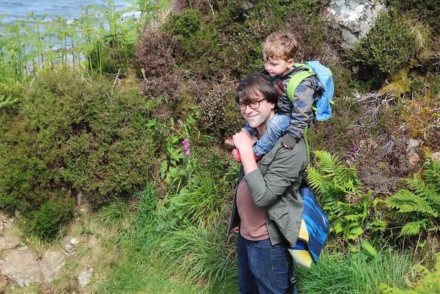 Isle of Arran Kings Cave Walk