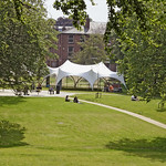 Winckley Square Gardens and a big tent!