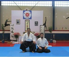 Ed went to the Saito seminar in Panama, and turns out he was representing the USA!