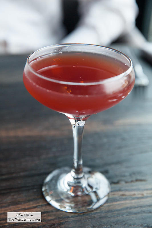 from the heizenberg, Luxe Cocktail made Blood and Sand style - Lowland Scotch, cherry, blood orange tea
