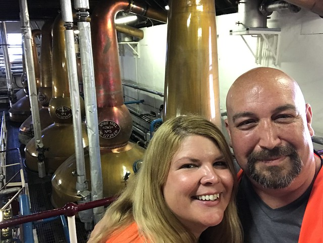 Us at the Balvenie stills