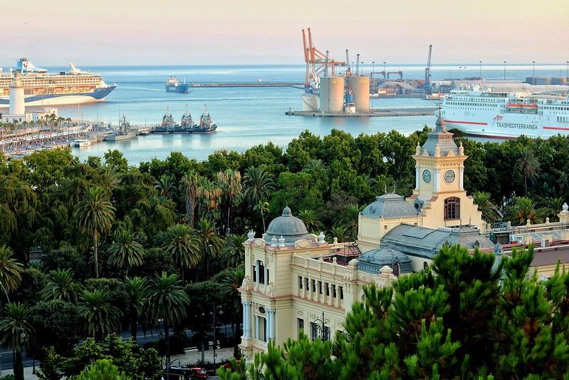 Port oficina Málaga, Andalusia