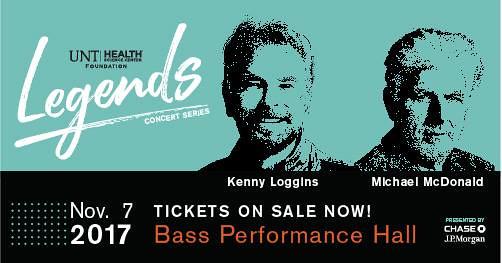 2017 Legends Concert Series: Kenny Loggins & Michael McDonald