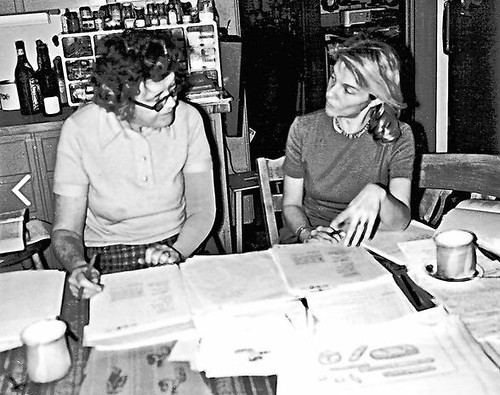 Judith Jones with Julia Child (c. 1959)