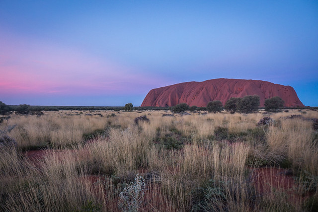Uluru - Sunset-11 - How to do your own self-guided Uluru tour in Australia. Visit Ayers Rock in the Australian outback for cheap | Things to do in Uluru | Budget tour of Ayres Rock | Road trip from Alice Springs to Uluru | Free camping at Uluru