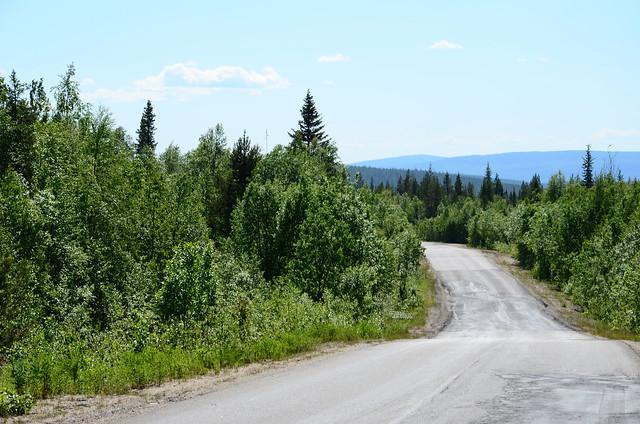 Alakurtti road, russia