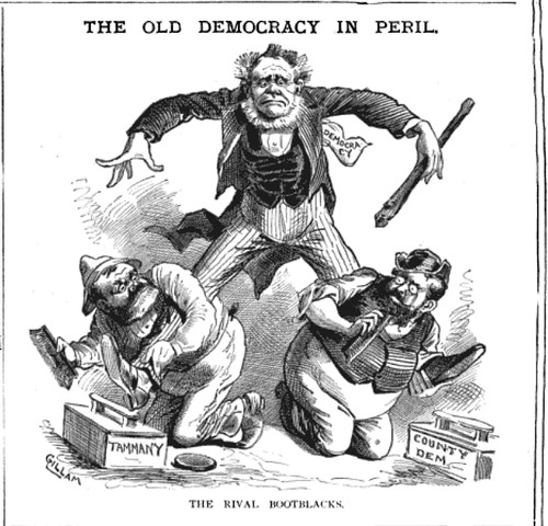 old democracy in peril, the (1883)