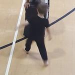 George doing Tae Kwon-Do