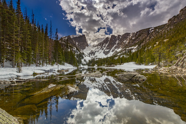 Dream Lake Reflection