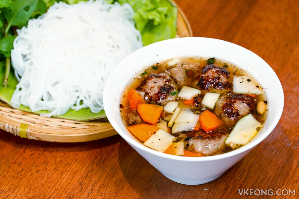 Ăn Viet  Bun Cha with Noodles