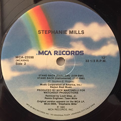 STEPHANIE MILLS:STAND BACK(LABEL SIDE-B)