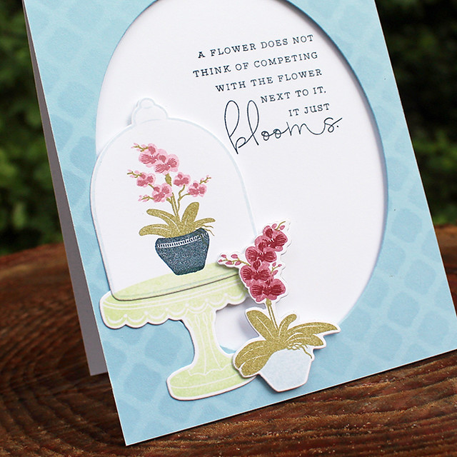 Blooming Orchids Card 3