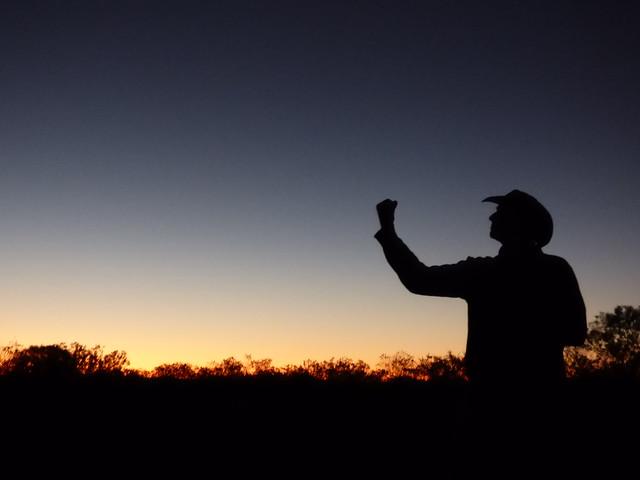 Sunrise at Uluru, Panasonic DMC-FZ70