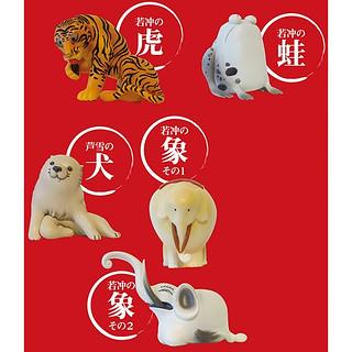 「奇想的畫家!」embrace 伊藤若冲的動物 盒裝版本!マガバコ伊藤若冲の動物プラスワン! トレーディングフィギュア