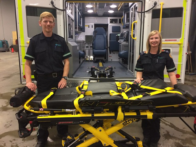 Power lifts to reduce injuries for paramedics