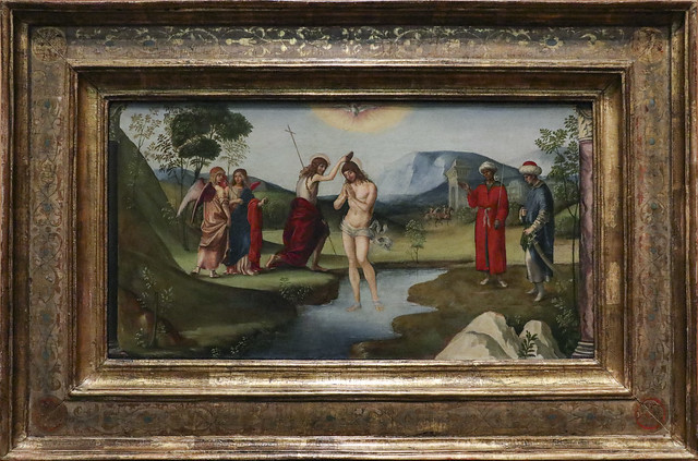 Baptism of Christ, Francesco Francia, Blogna 1490