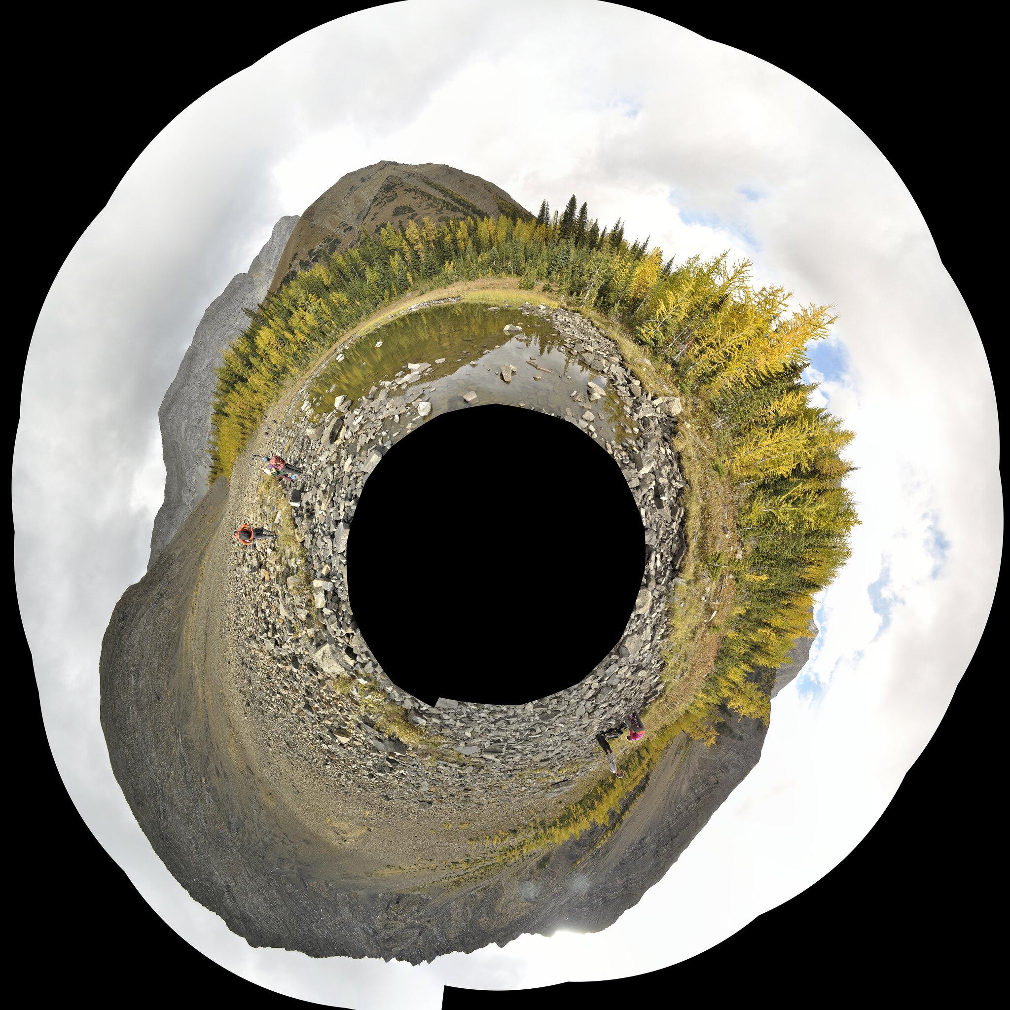 Pseudoplanetoide de Pocaterra Kananaskis
