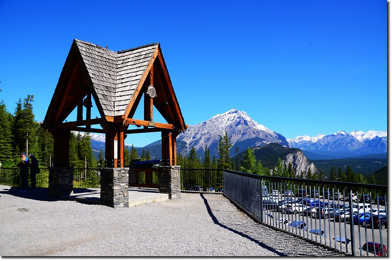 Banff Gondola parking lot