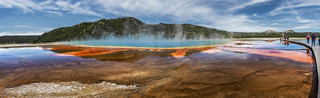Grand Prismatic Spring Pano (Yellowstone National Park)