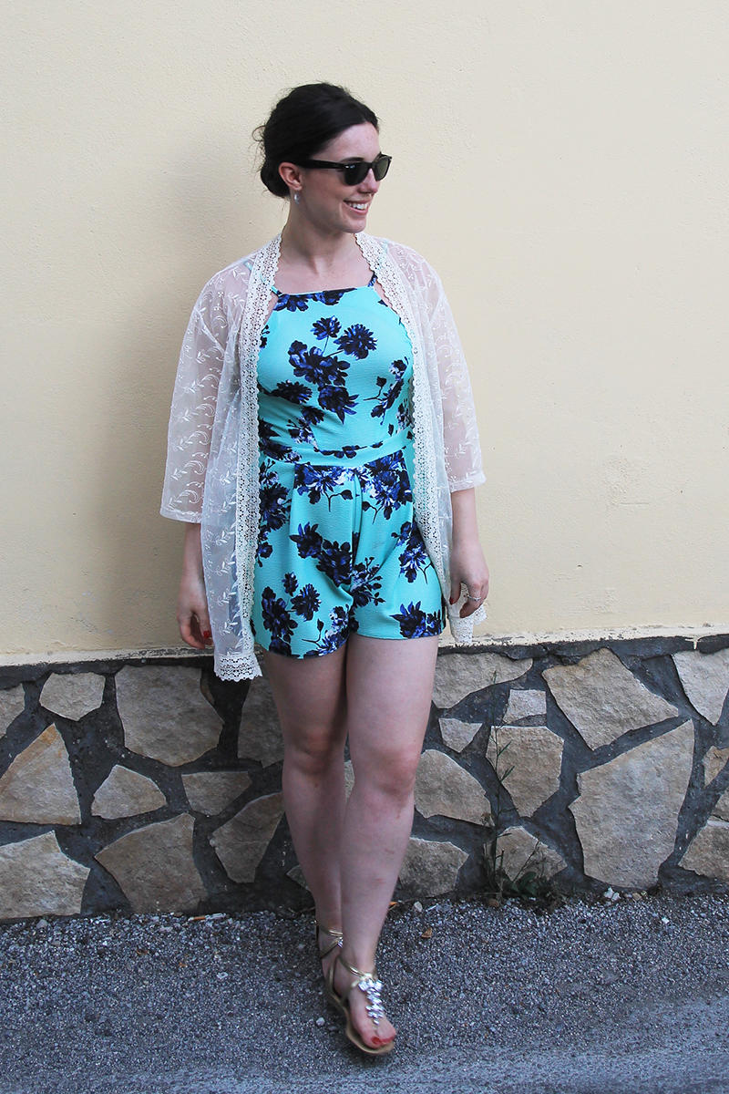 Playsuit fashion outfit blogger Uk travel lifestyle