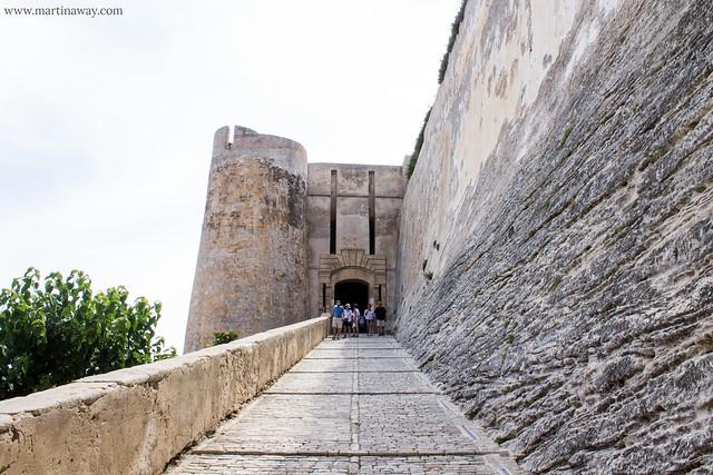 Entrata del Bastione dello Stendardo