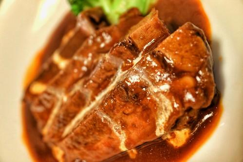 牛タンシチュー 肉十八番屋 虎ノ門店