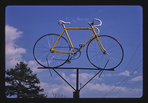 Bicycle Sign from PVC pipe