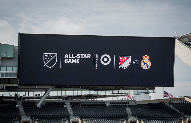 MLS All-Star and Real Madrid Training