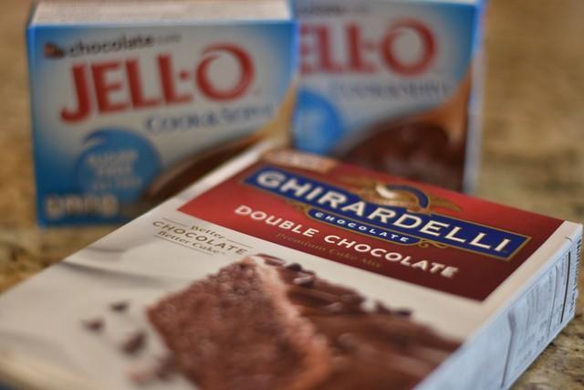 滋味(1):巧克力蛋糕