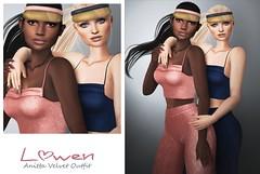 Lowen - Anitta Velvet Outfit