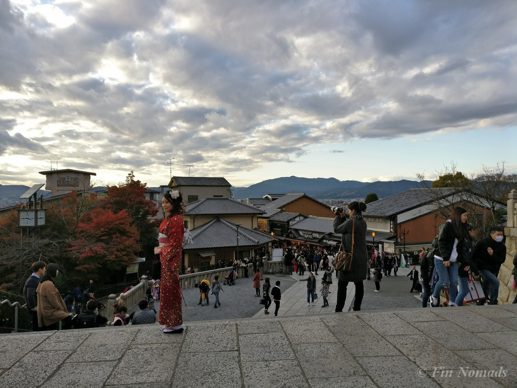 Kyoto Japanese kimono