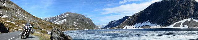 Djupvatnet pano, on the way to geiranger