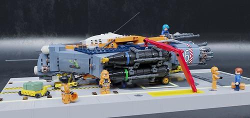 SB-17A2 Heavy Bomber