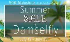 damselfly: Summer Sale