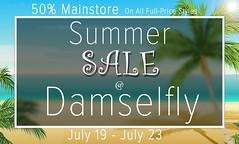 damselfly: Summer Sale