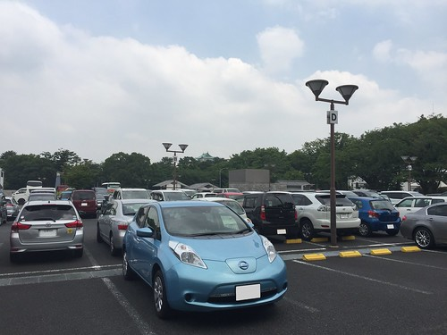 名古屋城駐車場