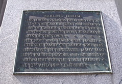 Photo of Newcastle Town Wall bronze plaque