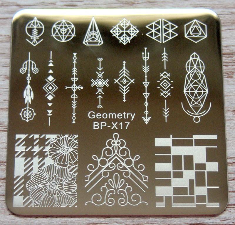 Born Pretty Store Geometry BP-X17