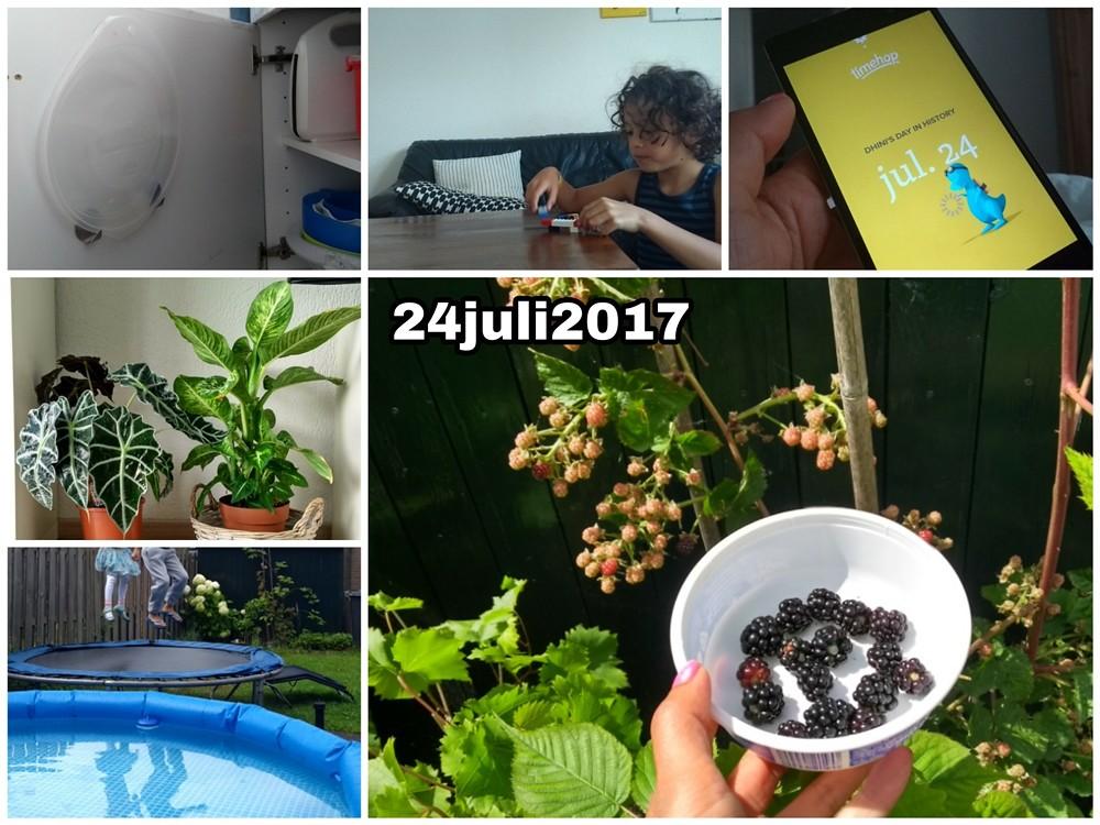 24 juli 2017 Snapshot