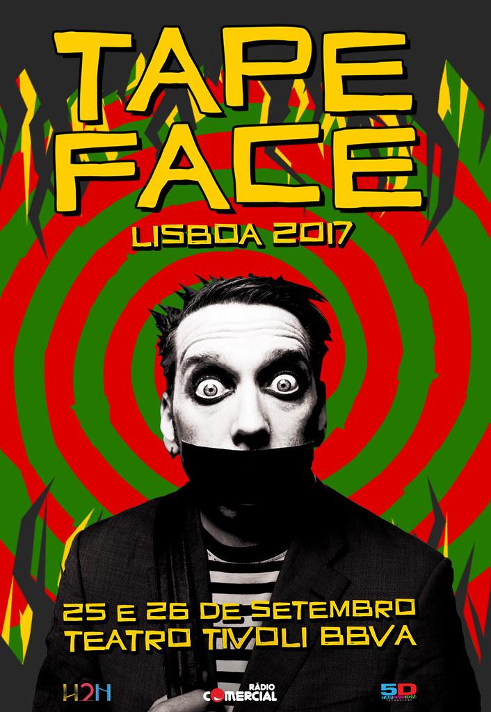 Tape Face_Cartaz Lisboa