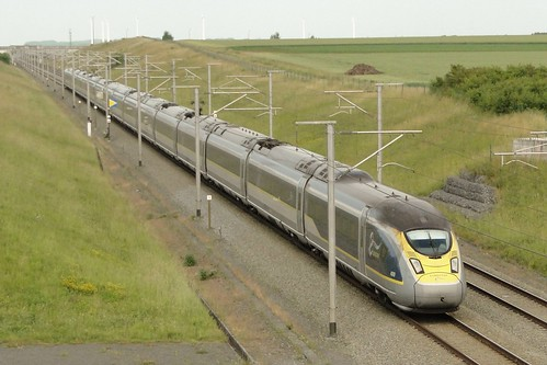 Belgian high speed lines - Eurostar N° 4009