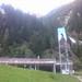 Údolní stanice podzemní lanovky