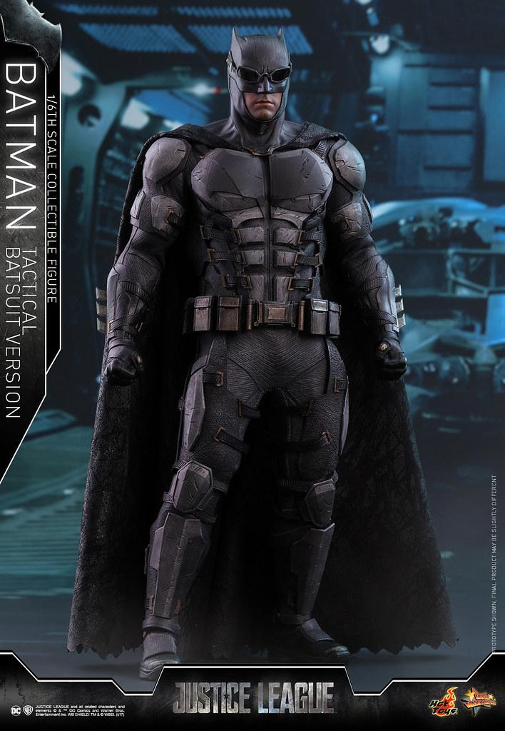 Hot Toys - MMS432 - 《正義聯盟》1/6比例 蝙蝠俠(戰術蝙蝠裝Ver.) Justice League Batman (Tactical Batsuit Version)